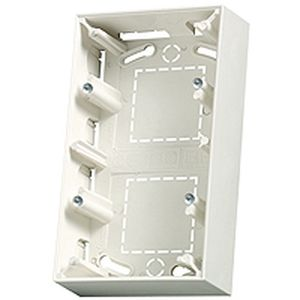 Cadre double Arnould vertical blanc