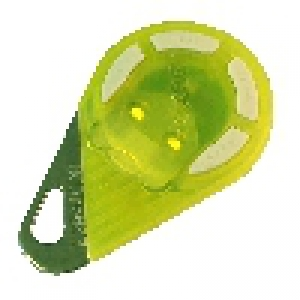 Télécommande radio bi-technologies 868 MHz jaune - 4 boutons (HEXACT)