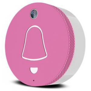 Link pink - sonnette sans fil connectée rose
