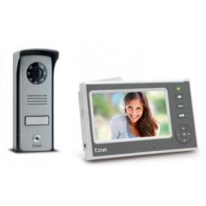 Mini - Visiophone sans fil écran blanc 11 cm portée 300m