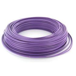Cable HO7V-U 1,5 mm2 Violet C100m (Prix au m)