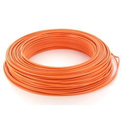 Cable HO7V-U 1,5 mm2 Orange C100m (Prix au m)