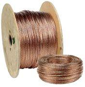 Chute de  50m de Cable de terre en cuivre nu 35mm2 (prix au m)