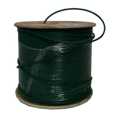 Cable coaxial KX6 vidéo vert - à la coupe (prix au m)
