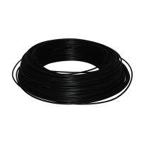 Cable HO7V-U 1,5 mm2 Noir C100m (Prix au m)
