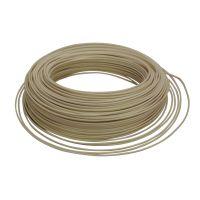 Cable HO7V-U 1,5 mm2 Ivoire C100m (Prix au m)