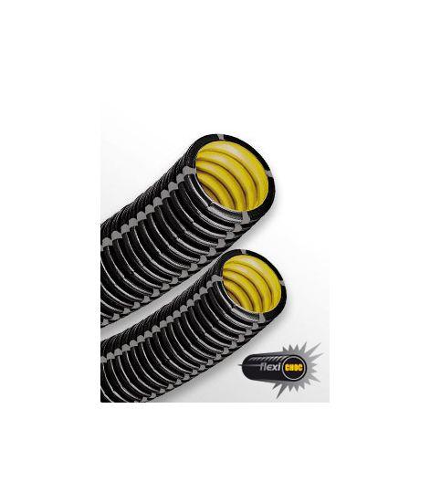 Arnould gaine Flexi-Choc 3522-IK10 diam 40 noire - Conduit isolant non propagateur de flamme C25m (prix au m)