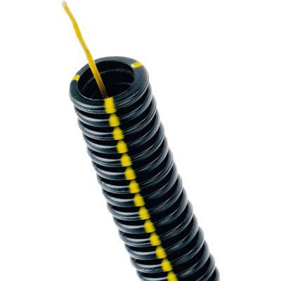 Courant gaine ICTA 3422 diam 16 noire flexpro (double peau) C100m (prix au m)