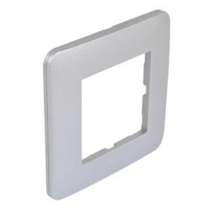 Casual plaque simple  silver