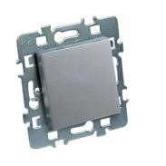 Interrupteur va et vient Casual Debflex + cache Aluminium + support métal
