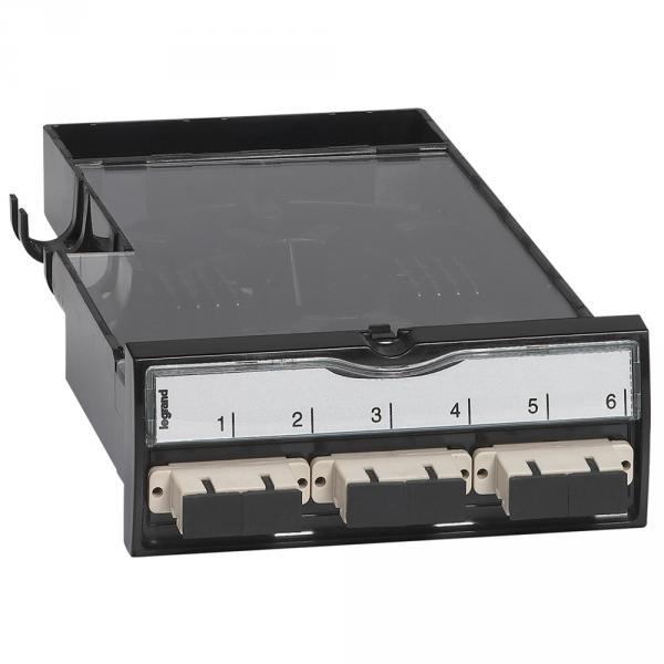 Cassette fibre optique - pour panneau de brassage - LCS²