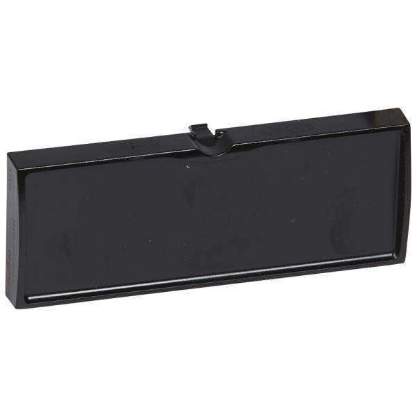 Bloc obturateur - pour panneau de brassage 19'' - noir - LCS²