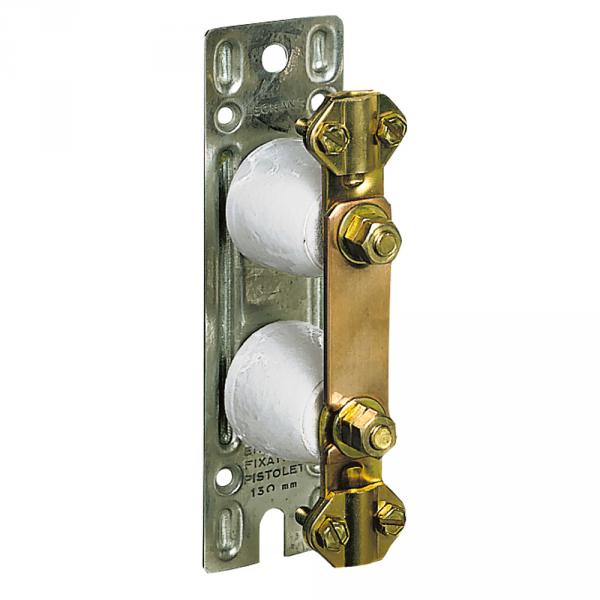 Barrette de coupure Cosga - platine métal 150x45