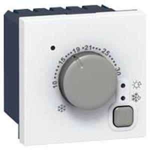 Thermostat d'ambiance électronique - Prog Mosaic - 5 à 30° C - 2 mod - blanc