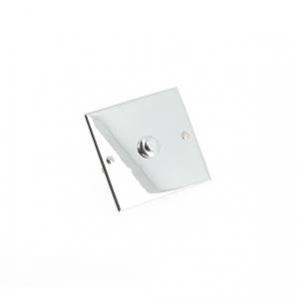 Interrupteur poussoirs miroir - Chrom - 2A - 250V