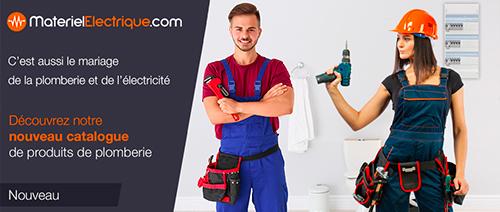 MaterielElectrique.com vend aussi du matériel de plomberie