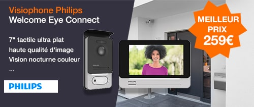 Philips welcome eye connect visiophone à prix canon