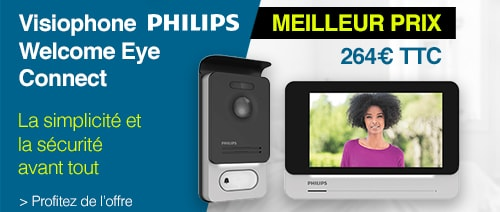 Philips welcome eye connect visiophone