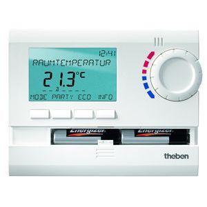 Thermostat ambiance  digital 3 prog   24h 7j piles ram 811 top2
