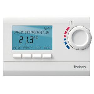 Ramses 812 Top2 - Thermostat programmable ambiance  digital - 24h 7j 230V