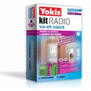 Yokis Kit Radio Va-et-Vient Gamme Radio Power (5454516)