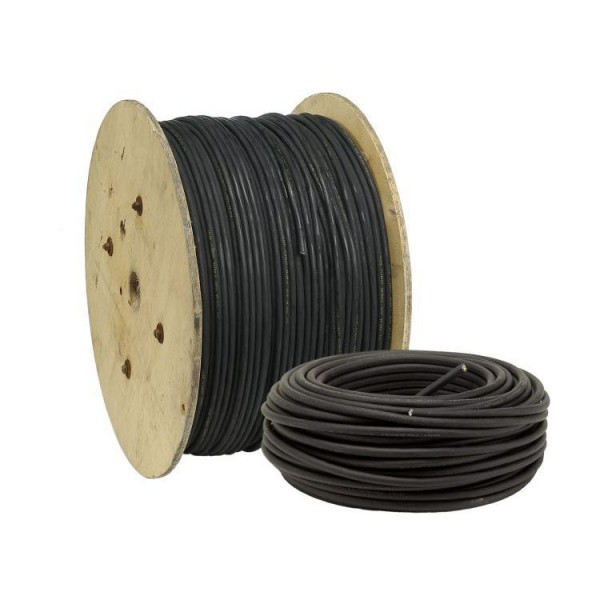 DEBFLEX Noir Bobinot c/âble rigide 10m HO7V-U 1,5mm/²