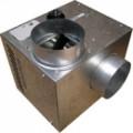 Répartiteur d'air chaud pour foyer fermé, 400 m3/h, thermostat intégré, D 125 mm. (CHEMINAIR 400)