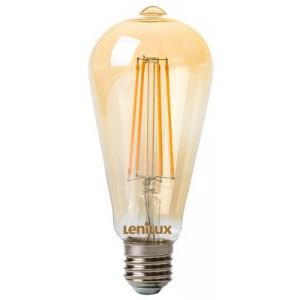 Filament 200lm Led À Ambrée Edison St64 E27 Lampe Lenilux lc3TFK1J5u