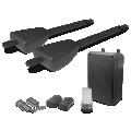 Kit de Motorisation Télescopique à Pistons pour Portail à 2 Battants Xpro Extel - Option solaire