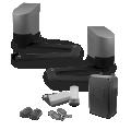 Kit motorisation bras articulés xpro - option solaire