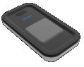 Télécommande Yokis porte clé Design - 1 touche (5454430)