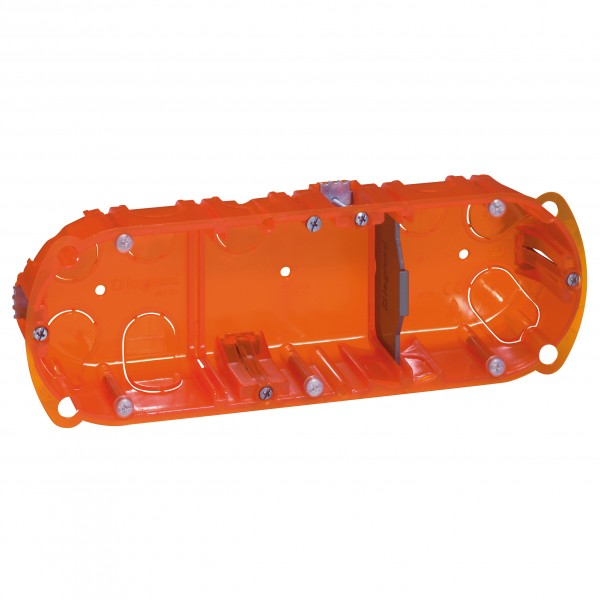 Legrand 080103 6//8 modules vert// 3 postes Boîte multimatériaux Batibox