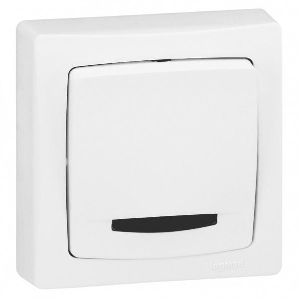 blanc Legrand 86001 Interrupteur va et vient appareillage saillie complet
