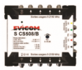 Evicom commutateur autonome 5 entrées 8 sorties SCS508/B