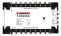 Evicom commutateur autonome 5 entrées 16 sorties SCS516/B