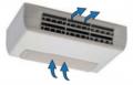 Aqualix2 ventillo-convecteur horizontal reprise dessous sans thermostat chb-t65
