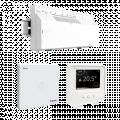 Kit de thermostat, Wiser, avec 1 concentrateur, 1 thermostat d'ambiance et 1 barrette de connexion